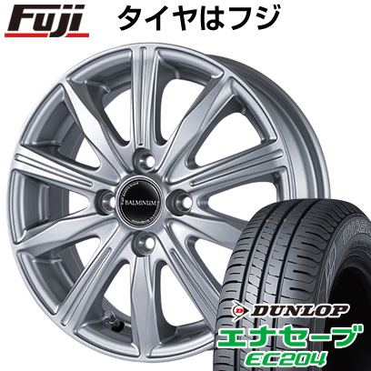 タイヤはフジ 送料無料 BRIDGESTONE ブリヂストン バルミナ KR10 5.5J 5.50-15 DUNLOP エナセーブ EC204 175/55R15 15インチ サマータイヤ ホイール4本セット