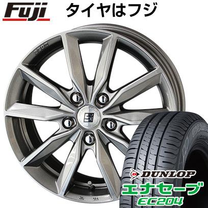タイヤはフジ 送料無料 KYOHO 共豊 キョウホウ ザインSV 6.5J 6.50-16 DUNLOP エナセーブ EC204 215/65R16 16インチ サマータイヤ ホイール4本セット