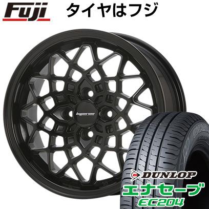 タイヤはフジ 送料無料 MLJ ハイペリオン カルマ 7J 7.00-15 DUNLOP エナセーブ EC204 195/55R15 15インチ サマータイヤ ホイール4本セット