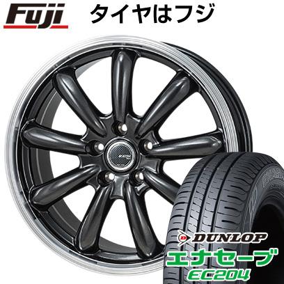 タイヤはフジ 送料無料 MONZA モンツァ JPスタイル バーニー 6.5J 6.50-16 DUNLOP エナセーブ EC204 215/65R16 16インチ サマータイヤ ホイール4本セット