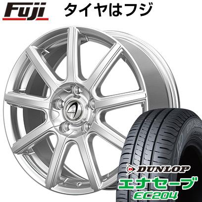 タイヤはフジ 送料無料 TECHNOPIA テクノピア アルテミス NS9 6.5J 6.50-16 DUNLOP エナセーブ EC204 215/65R16 16インチ サマータイヤ ホイール4本セット