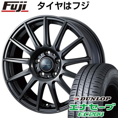 タイヤはフジ 送料無料 WEDS ウェッズ ヴェルバ イゴール 6.5J 6.50-16 DUNLOP エナセーブ EC204 205/60R16 16インチ サマータイヤ ホイール4本セット