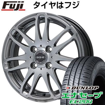 タイヤはフジ 送料無料 BRANDLE ブランドル G72 5.5J 5.50-15 DUNLOP エナセーブ EC204 185/55R15 15インチ サマータイヤ ホイール4本セット