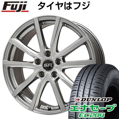 タイヤはフジ 送料無料 BRANDLE ブランドル N52 7J 7.00-17 DUNLOP エナセーブ EC204 215/45R17 17インチ サマータイヤ ホイール4本セット