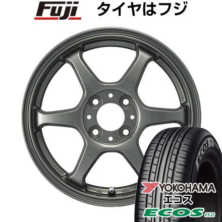 タイヤはフジ 送料無料 カジュアルセット タイプL 2. 4.5J 4.50-14 YOKOHAMA エコス ES31 165/60R14 14インチ サマータイヤ ホイール4本セット