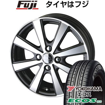 タイヤはフジ 送料無料 ソリオ(MA36S) KYOHO 共豊 スマック VI-R 4.5J 4.50-15 YOKOHAMA エコス ES31 165/65R15 15インチ サマータイヤ ホイール4本セット