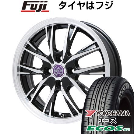 タイヤはフジ 送料無料 LEHRMEISTER レアマイスター ソライアV5 4.5J 4.50-14 YOKOHAMA エコス ES31 155/65R14 14インチ サマータイヤ ホイール4本セット