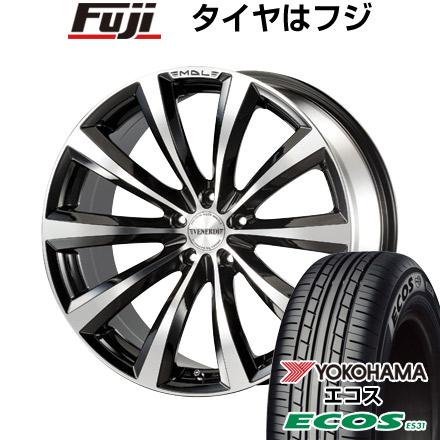 タイヤはフジ 送料無料 VENERDI ヴェネルディ マデリーナ 7.5J 7.50-18 YOKOHAMA エコス ES31 215/45R18 18インチ サマータイヤ ホイール4本セット
