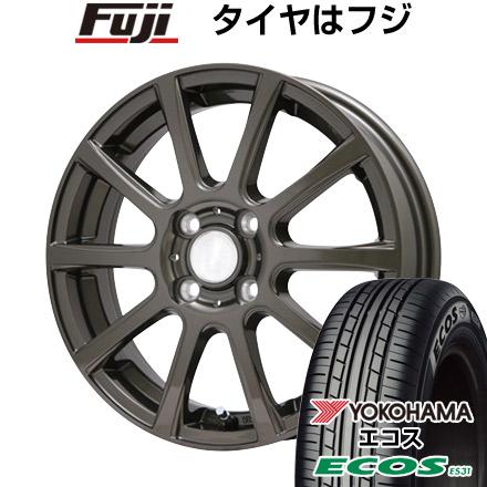 タイヤはフジ 送料無料 ソリオ(MA26S) BRANDLE ブランドル 565Z 4.5J 4.50-14 YOKOHAMA エコス ES31 165/70R14 14インチ サマータイヤ ホイール4本セット