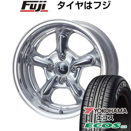 タイヤはフジ 送料無料 WORK ワーク グッカーズ HEMI 6.5J 6.50-15 YOKOHAMA エコス ES31 185/55R15 15インチ サマータイヤ ホイール4本セット