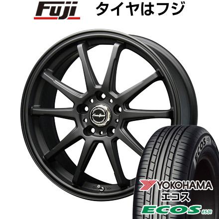 タイヤはフジ 送料無料 BLEST ブレスト ユーロスポーツ タイプSS-01 7J 7.00-17 YOKOHAMA エコス ES31 215/45R17 17インチ サマータイヤ ホイール4本セット