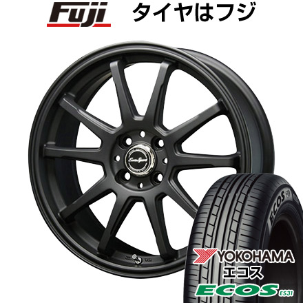 タイヤはフジ 送料無料 BLEST ブレスト ユーロスポーツ タイプSS-01 6J 6.00-16 YOKOHAMA エコス ES31 195/55R16 16インチ サマータイヤ ホイール4本セット