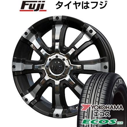 タイヤはフジ 送料無料 CRIMSON クリムソン マーテルギア(MG) ビースト 5J 5.00-15 YOKOHAMA エコス ES31 165/50R15 15インチ サマータイヤ ホイール4本セット