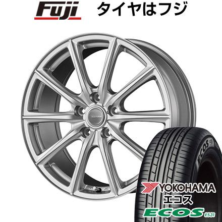 タイヤはフジ 送料無料 BRIDGESTONE ブリヂストン エコフォルム SE-15 6.5J 6.50-16 YOKOHAMA エコス ES31 205/55R16 16インチ サマータイヤ ホイール4本セット