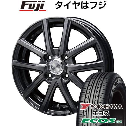 タイヤはフジ 送料無料 BLEST ブレスト ユーロマジック アスパイアFX限定 4J 4.00-13 YOKOHAMA エコス ES31 155/70R13 13インチ サマータイヤ ホイール4本セット