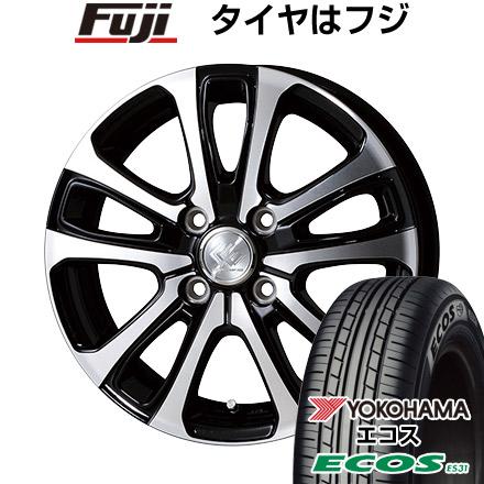 タイヤはフジ 送料無料 TOPY トピー セレブロ LF5 5.5J 5.50-14 YOKOHAMA エコス ES31 175/65R14 14インチ サマータイヤ ホイール4本セット