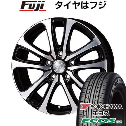 タイヤはフジ 送料無料 TOPY トピー セレブロ LF5 7J 7.00-17 YOKOHAMA エコス ES31 215/50R17 17インチ サマータイヤ ホイール4本セット