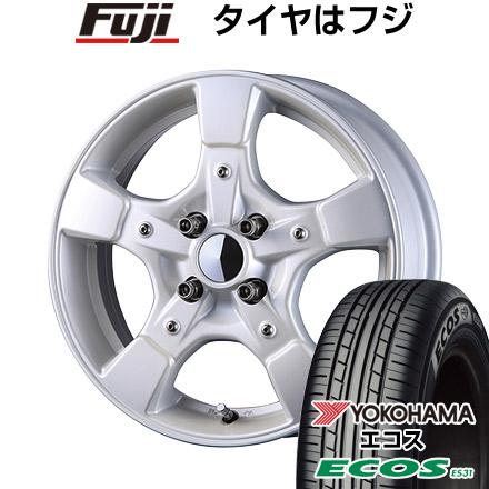 タイヤはフジ 送料無料 CRIMSON クリムソン グーフィー スプリッター 5J 5.00-15 YOKOHAMA エコス ES31 165/50R15 15インチ サマータイヤ ホイール4本セット
