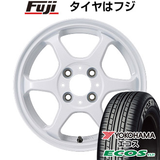 タイヤはフジ 送料無料 カジュアルセット タイプL 2. 5J 5.00-14 YOKOHAMA エコス ES31 165/60R14 14インチ サマータイヤ ホイール4本セット