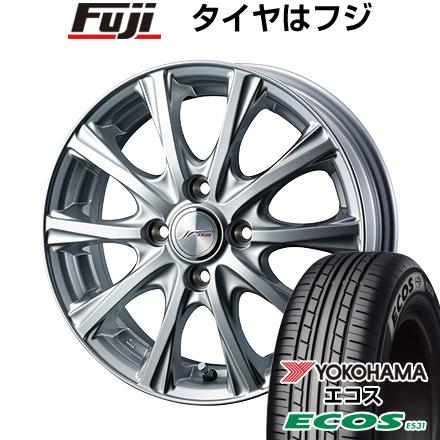 タイヤはフジ 送料無料 WEDS ウェッズ ジョーカー マジック 5.5J 5.50-14 YOKOHAMA エコス ES31 185/70R14 14インチ サマータイヤ ホイール4本セット