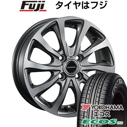 タイヤはフジ 送料無料 BRIDGESTONE ブリヂストン バルミナ TR10 6J 6.00-16 YOKOHAMA エコス ES31 185/55R16 16インチ サマータイヤ ホイール4本セット