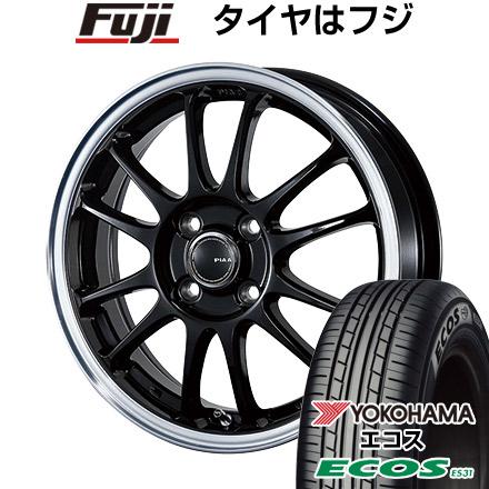 タイヤはフジ 送料無料 PIAA ピア モトリズモTS-6 4.5J 4.50-15 YOKOHAMA エコス ES31 165/50R15 15インチ サマータイヤ ホイール4本セット
