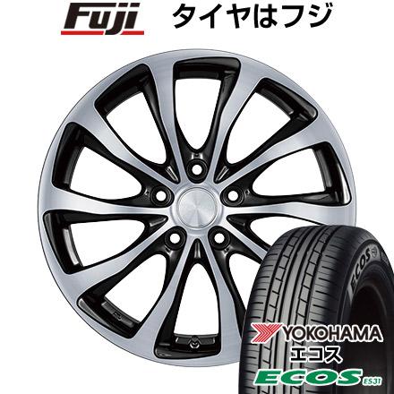 タイヤはフジ 送料無料 BRIDGESTONE ブリヂストン バルミナ T10 6J 6.00-15 YOKOHAMA エコス ES31 195/65R15 15インチ サマータイヤ ホイール4本セット