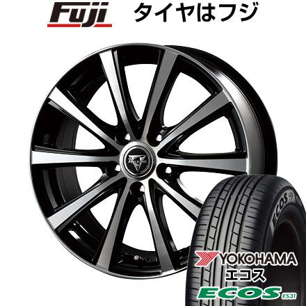 タイヤはフジ 送料無料 INTER MILANO インターミラノ レイジー XV 4.5J 4.50-14 YOKOHAMA エコス ES31 165/60R14 14インチ サマータイヤ ホイール4本セット