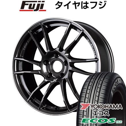 タイヤはフジ 送料無料 RAYS レイズ グラムライツ 57XTC 7J 7.00-17 YOKOHAMA エコス ES31 205/50R17 17インチ サマータイヤ ホイール4本セット