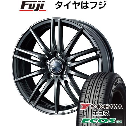 タイヤはフジ 送料無料 WEDS ウェッズ ザミック ティート 6.5J 6.50-16 YOKOHAMA エコス ES31 215/65R16 16インチ サマータイヤ ホイール4本セット