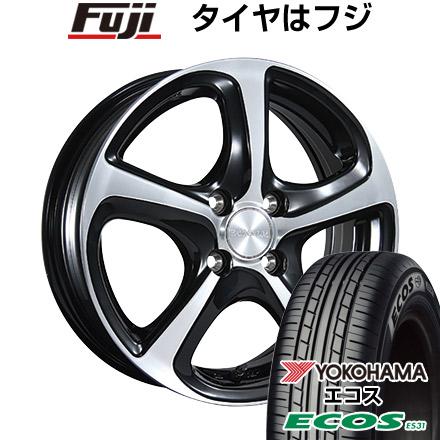 タイヤはフジ 送料無料 BRIDGESTONE ブリヂストン バルミナ Z5 5.5J 5.50-15 YOKOHAMA エコス ES31 175/60R15 15インチ サマータイヤ ホイール4本セット