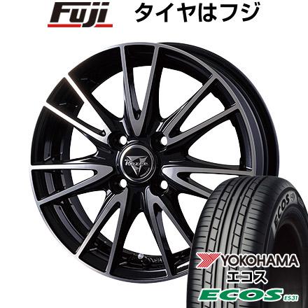タイヤはフジ 送料無料 INTER MILANO インターミラノ レイジー NX-7 4.5J 4.50-14 YOKOHAMA エコス ES31 165/60R14 14インチ サマータイヤ ホイール4本セット