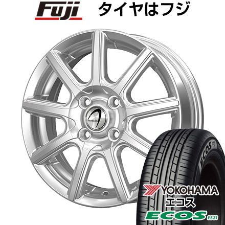 タイヤはフジ 送料無料 TECHNOPIA テクノピア アルテミス NS9 4.5J 4.50-14 YOKOHAMA エコス ES31 165/65R14 14インチ サマータイヤ ホイール4本セット