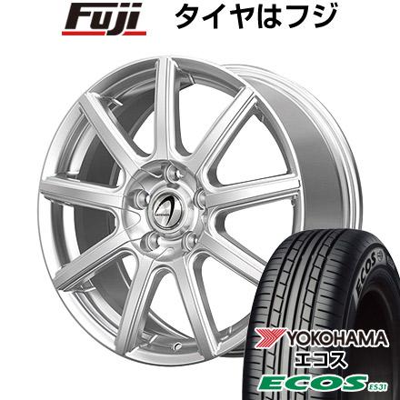 タイヤはフジ 送料無料 TECHNOPIA テクノピア アルテミス NS9 7J 7.00-17 YOKOHAMA エコス ES31 205/50R17 17インチ サマータイヤ ホイール4本セット