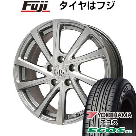 衝撃特価 タイヤはフジ 送料無料 BRANDLE ブランドル E04 7J 7.00-17 YOKOHAMA エコス ES31 215/45R17 17インチ サマータイヤ ホイール4本セット, VENICE 789eee26