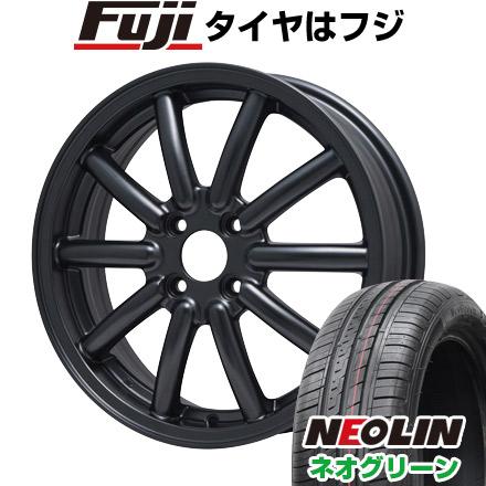 タイヤはフジ 送料無料 ALGERNON アルジェノン フェニーチェ RX-1 5J 5.00-15 NEOLIN ネオリン ネオグリーン(限定) 165/50R15 15インチ サマータイヤ ホイール4本セット