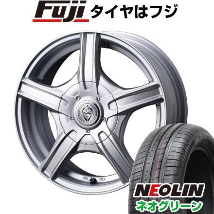 タイヤはフジ 送料無料 WEDS ウェッズ トレファー MH 5.5J 5.50-14 NEOLIN ネオリン ネオグリーン(限定) 175/65R14 14インチ サマータイヤ ホイール4本セット