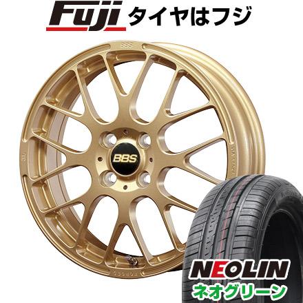 タイヤはフジ 送料無料 BBS JAPAN BBS RP 6J 6.00-15 NEOLIN ネオリン ネオグリーン(限定) 185/55R15 15インチ サマータイヤ ホイール4本セット