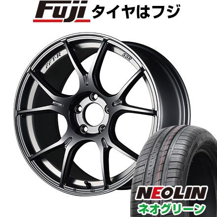 【送料無料】 165/45R16 16インチ SSR GTX02 5J 5.00-16 NEOLIN ネオリン ネオグリーン(限定) サマータイヤ ホイール4本セット