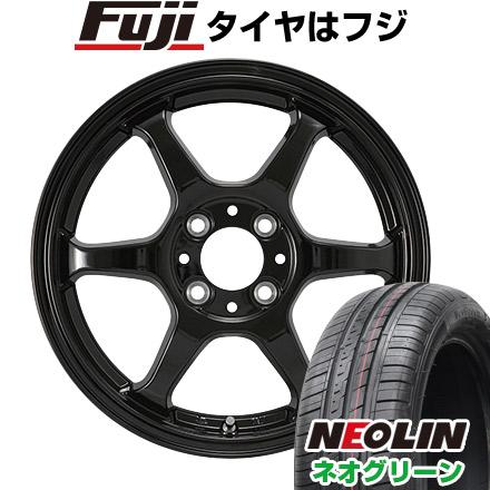 タイヤはフジ 送料無料 カジュアルセット タイプL 2. 5J 5.00-14 NEOLIN ネオリン ネオグリーン(限定) 165/55R14 14インチ サマータイヤ ホイール4本セット