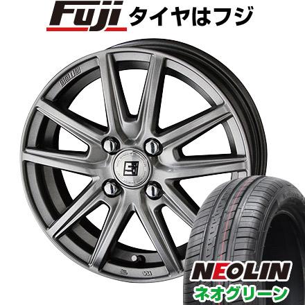 タイヤはフジ 送料無料 KYOHO 共豊 キョウホウ ザインSS 4.5J 4.50-15 NEOLIN ネオリン ネオグリーン(限定) 165/50R15 15インチ サマータイヤ ホイール4本セット