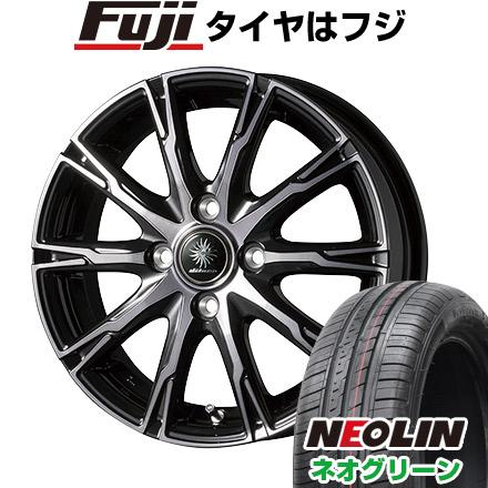 タイヤはフジ 送料無料 TOPY トピー ディルーチェ DX10 5.5J 5.50-15 NEOLIN ネオリン ネオグリーン(限定) 175/65R15 15インチ サマータイヤ ホイール4本セット