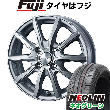 タイヤはフジ 送料無料 WEDS ウェッズ ジョーカー シェイク 5.5J 5.50-14 NEOLIN ネオリン ネオグリーン(限定) 175/65R14 14インチ サマータイヤ ホイール4本セット