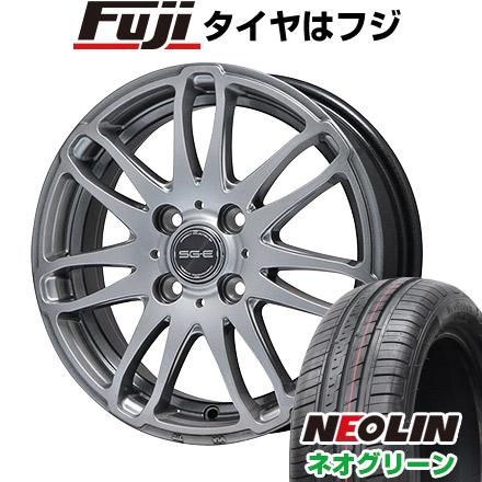タイヤはフジ 送料無料 BRANDLE ブランドル G72 5.5J 5.50-15 NEOLIN ネオリン ネオグリーン(限定) 185/55R15 15インチ サマータイヤ ホイール4本セット