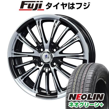 タイヤはフジ 送料無料 BLEST ブレスト バーンズテック VR-01 7J 7.00-17 NEOLIN ネオリン ネオグリーン プラス(限定) 205/40R17 17インチ サマータイヤ ホイール4本セット