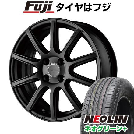 タイヤはフジ 送料無料 BRIDGESTONE ブリヂストン エコフォルム CRS/131 6.5J 6.50-16 NEOLIN ネオリン ネオグリーン プラス(限定) 205/45R16 16インチ サマータイヤ ホイール4本セット
