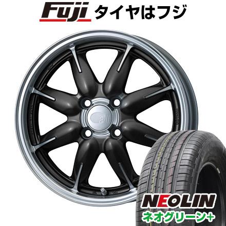 タイヤはフジ 送料無料 ENKEI エンケイ allシリーズ オールワン 6J 6.00-15 NEOLIN ネオリン ネオグリーン プラス(限定) 195/65R15 15インチ サマータイヤ ホイール4本セット