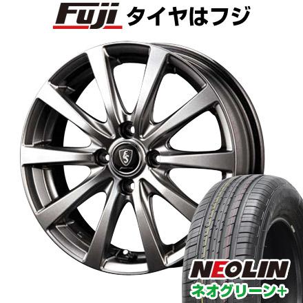 タイヤはフジ 送料無料 MID ユーロスピード G10 6J 6.00-16 NEOLIN ネオリン ネオグリーン プラス(限定) 205/55R16 16インチ サマータイヤ ホイール4本セット