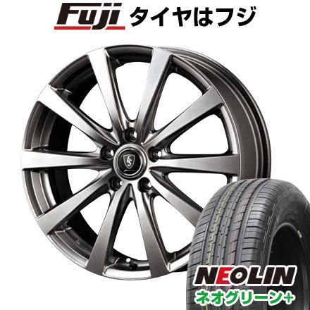 タイヤはフジ 送料無料 MID ユーロスピード G10 6J 6.00-15 NEOLIN ネオリン ネオグリーン プラス(限定) 195/65R15 15インチ サマータイヤ ホイール4本セット