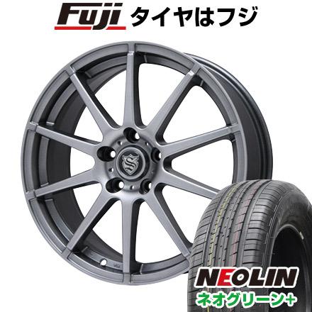 タイヤはフジ 送料無料 BRANDLE ブランドル 562 6.5J 6.50-16 NEOLIN ネオリン ネオグリーン プラス(限定) 205/55R16 16インチ サマータイヤ ホイール4本セット